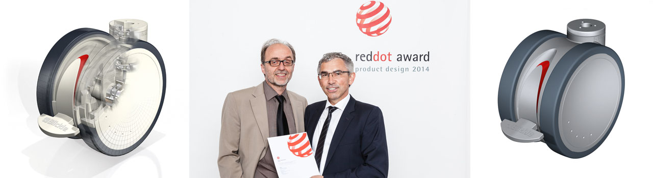 Podelitev nagrade red dot design award